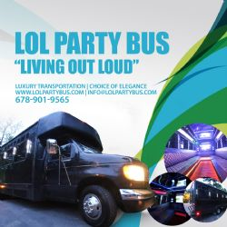 4 Hr Party Bus Limo Transportation Service